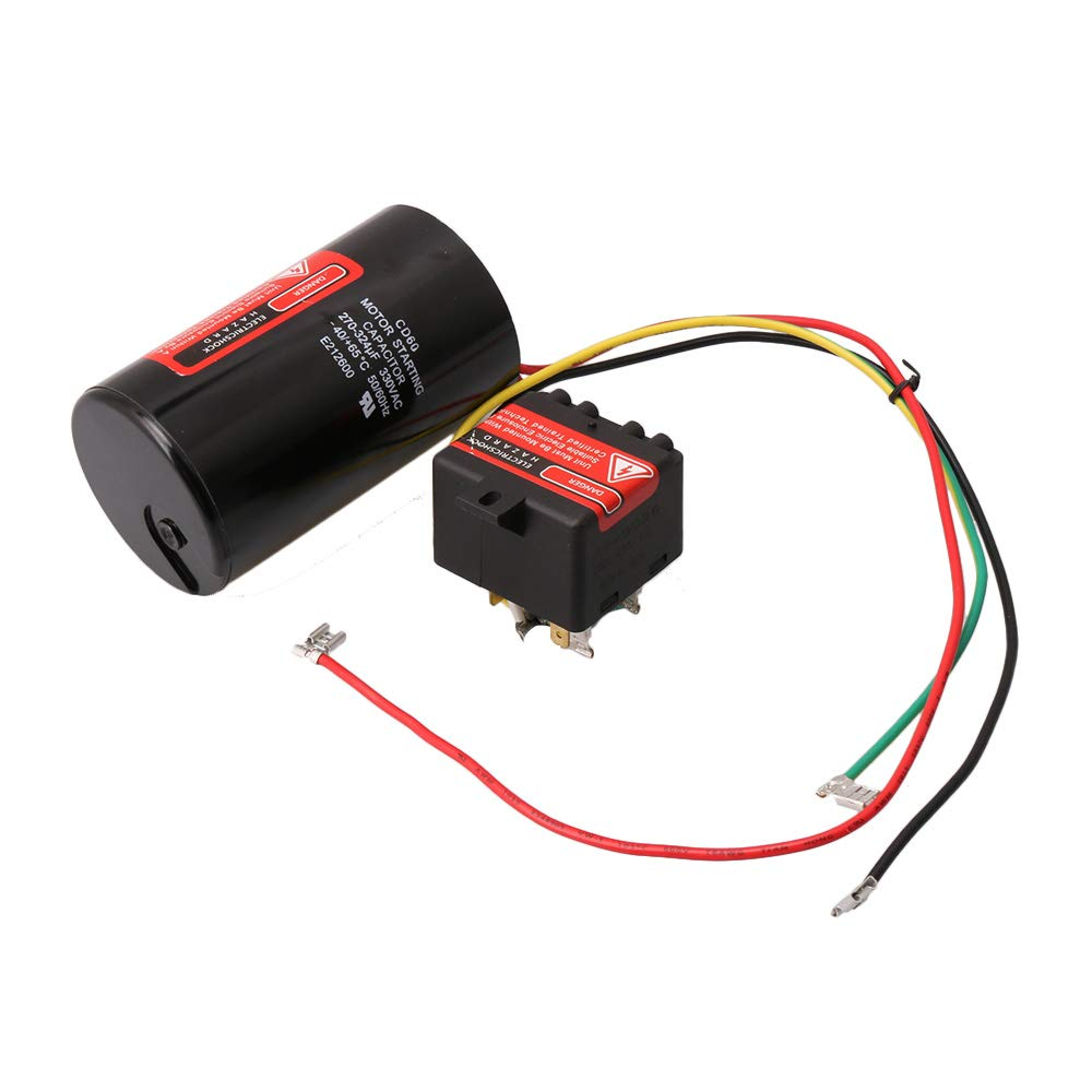 AC-Hartstartkondensator compatible 5-2-1 CSR-U1 Kompressor Sparer ...