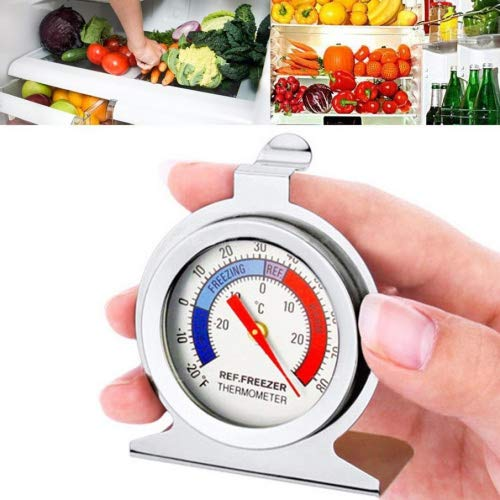 IGEMY - Termómetro para frigorífico o congelador (medidor de ...
