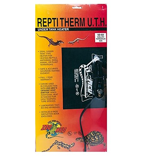 - Zoo Med ReptiTherm Under Tank Heater, 30-40 Gallon