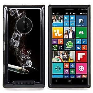 SKCASE Center / Funda Carcasa protectora - El humo del cigarrillo;;;;;;;; - Nokia Lumia 830