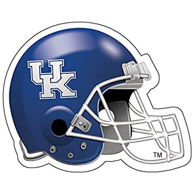 CounterArt Kentucky Wildcats Football Helmet Shaped Coasters, Set of 2