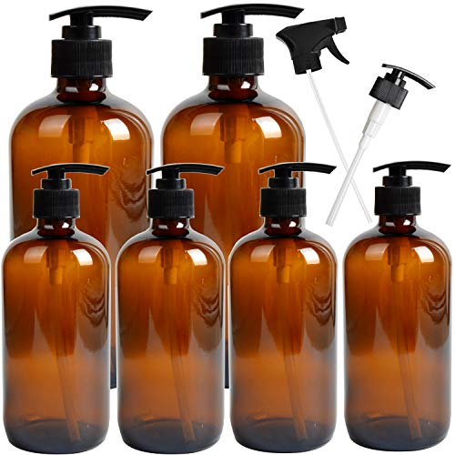 essential oils lotion containers - 5