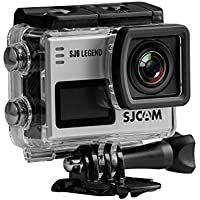 SJCAM SJ6 Legend 16MP Gyro Action Camera, 2 LCD Touchscreen, 4K at 24fps (Interpolation), 2K at 30fps, Silver