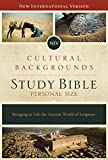 NIV, Cultural Backgrounds Study Bible, Personal Size, Hardcover, Red Letter Edition: Bringing to Life the Ancient World of Scripture