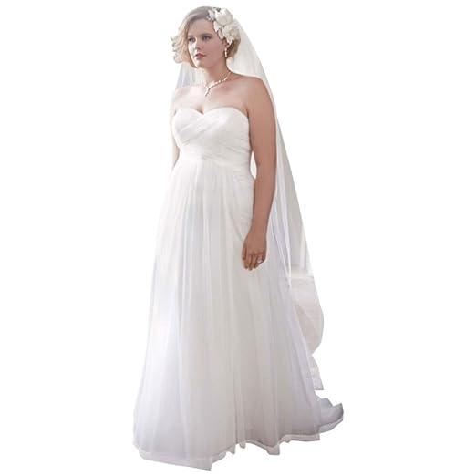 Wedding Dress Sample Sale.David S Bridal Sample Dot Tulle Empire Waist Soft Wedding Gown