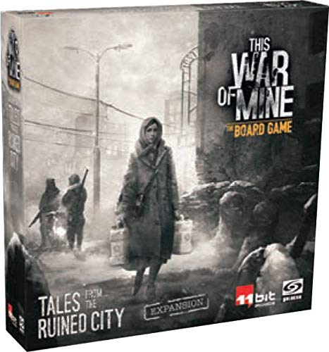 Ares Games This War of Mine: Tales from The Ruined City Expansion