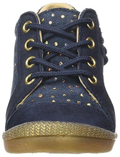 babybotte Falsifi - Zapatos de primeros pasos Bebé-Niños Bleu (Marine Or)