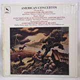 American Concertos: Ullysses Kay - Concerto for Orchestra / Henry Brant - Concerto for Alto Saxophone and Orchestra / Normand Lockwood - Concerto for Organ & Brasses