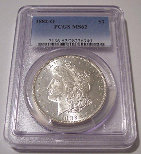 1882 O Morgan Silver Dollar MS62 PCGS