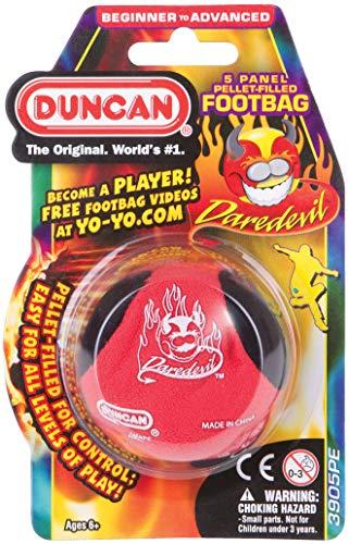 Duncan Daredevil 5 Panel Pellet Filled Footbag - Assorted Color ()