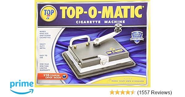 New Top-O-Matic Cigarette Rolling Machine