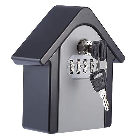 Caja de cerradura con llave, [Versión actualizada] [Montado ...