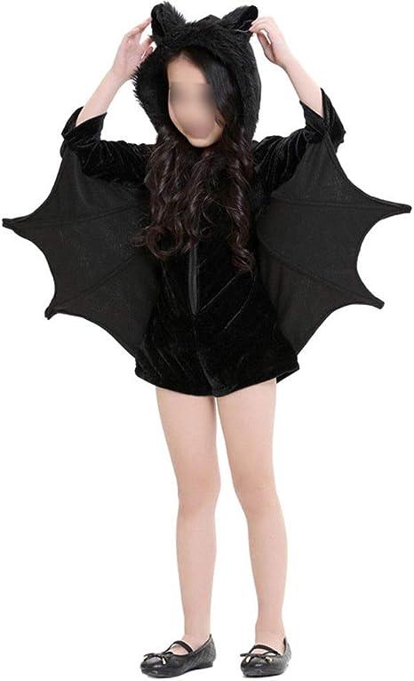 Meijunter Disfraces de Halloween - Niño Adulto Acogedor Murciélago ...