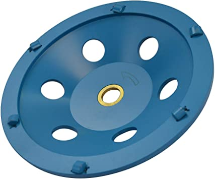 "5"" Quarter Round PCD Grinding Cup Wheel 4 Segments 7//8/""-5//8/"" Arbor"