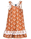Texas UT Longhorn Big Girls Tie Top Gown, Size 8