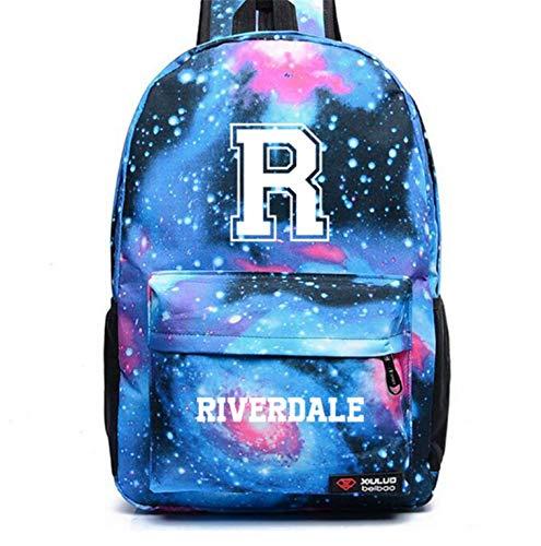 Riverdale South Side Serpents Backpack Shoulder travel School Bag Bookbag for teenagers men women Casual Laptop Bags (9)