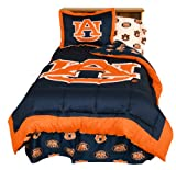College Covers Auburn Tigers Reversible Comforter Set, Queen