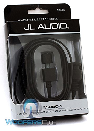 JL Audio M-RBC-1 Water Resistant Bass Knob - 1200 Bass Amplifier