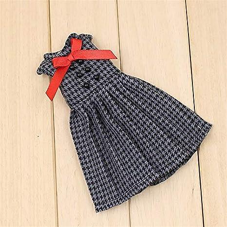 ドレス、靴、レギンス、手袋、スカーフ、1/6 bjdとファッションBJD人形/ブライス人形のための美しい冬の雪の服セット (エレガント)
