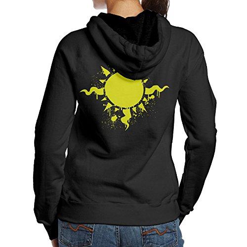 [YYUCGH Homestuck Symbol Women's Pullover Hoodie Sweatshirts L Black] (Google Glass Costume)