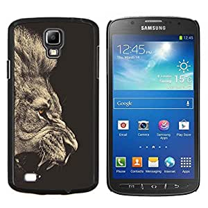 BearCase / Cubierta de protección Caso duro de la contraportada de Shell Plástico /// Samsung Galaxy S4 Active i9295 /// Roaring Lion Golden Eye
