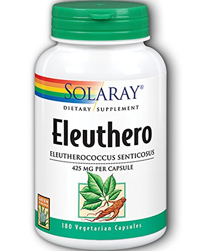 Eleuthero 425 mg (Replaces Siberian Ginseng Root 425mg) – 180 – Capsule Review