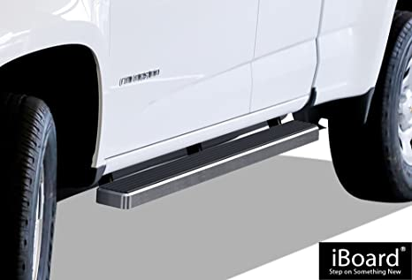 "iBoard estribos 4 ""Custom Fit 2015 – 2018 Chevy Colorado/GMC Canyon cabina"