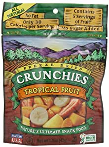 Crunchies - Freeze Dried Fruit Snack Tropical Fruit - 1.5 oz.