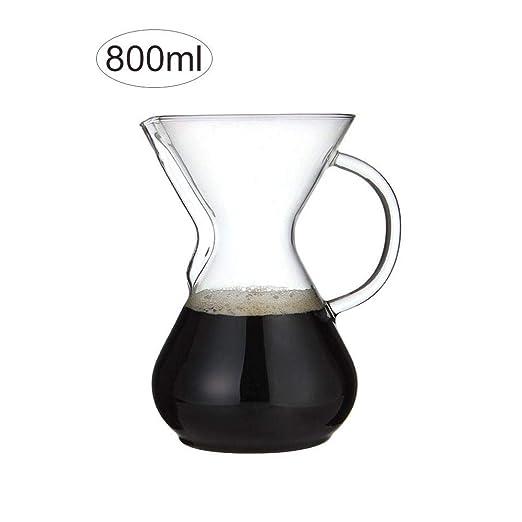 Dadahuam cafetera de café, asa de Vidrio, vajilla sobre la ...