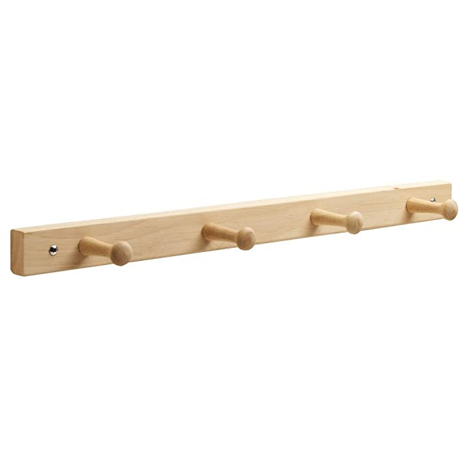 Amazon.com: Perchero de madera InterDesign: Home & Kitchen