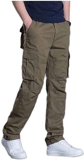 Tootess 男性マルチポケットロングパンツアスレチックフィットオーバーサイズカーゴワークパンツ