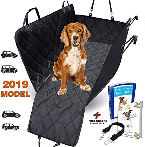 KIA CEED ALL YEARS PREMIUM QUILTED PET HAMMOCK REAR SEAT COVER