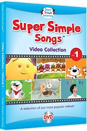Super Simple Songs Video Collection Vol 1 Movies Tv