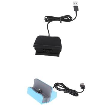 Homyl 1x Base de Carga Micro USB Tipo C Accesorios para ...