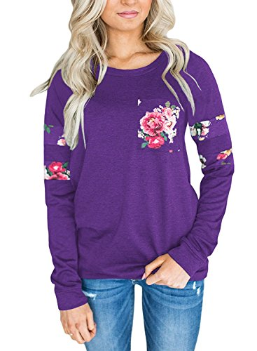 Purple Ladies Shirt - 7