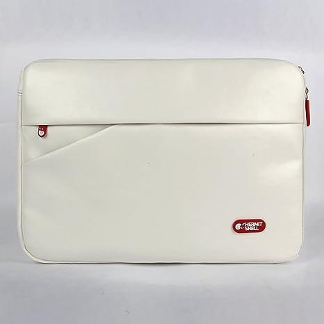 Hermitshell PU maletín para laptop manga del ordenador portátil Maletín Llevar Ultrabook portátil cubierta de piel