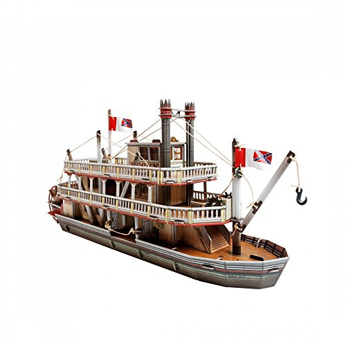 - Innovative 3D-Puzzles - The Steamboat - Wild West Series by Clever Paper (459)