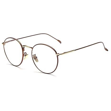Occhiali Aviatore Vintage Occhiali Finti Occhiali Lenti Trasparenti in Metallo Retrò per Uomo Donna (Argento) JiTf0X5k