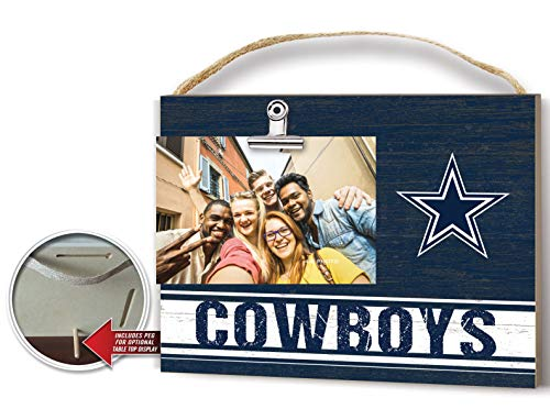 KH Sports Fan Clip It Colored Logo Photo Frame Dallas Cowboys Dallas Cowboys Picture Frame