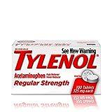 Tylenol Reg Strngth 100'S Size 100ct Tylenol 325 Mg Regular Strength Pain Reliever