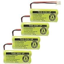 BAOBIAN 2.4V 400mAh Cordless Home Phone Battery for at&T BT162342 BT-162342 BT166342 BT-166342 BT266342 BT-266342 BT183342 BT-183342 BT283342 BT-283342 VTech CS6329 CS6114 CS6419(Pack of 4)