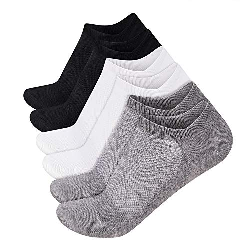 w Cut Socks Non Slip Casual Ankle Cotton Socks Liner Sox ()