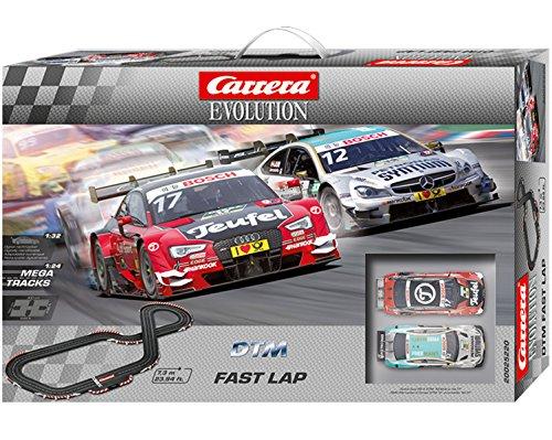 Carrera Evolution 25220 DTM Fast Lap Slot Car Set