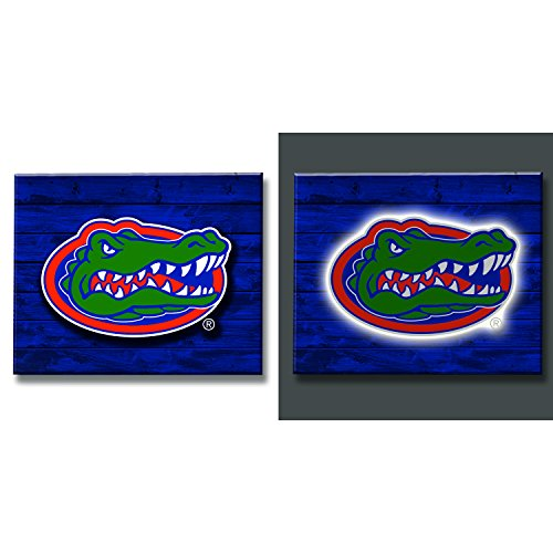 Team Sports America Florida Gators LED Metal Wall Art