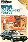 Nissan Stanza, 200SX, 240SX, 1982-92, Chilton Automotive Editorial Staff, 0801983088