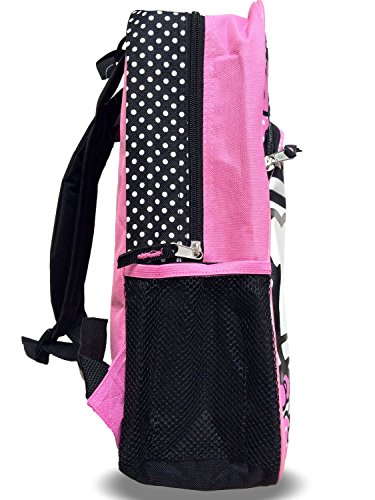FAB Starpoint Little Girls' Hello Kitty Pink bow Backpack, Multi, One Size