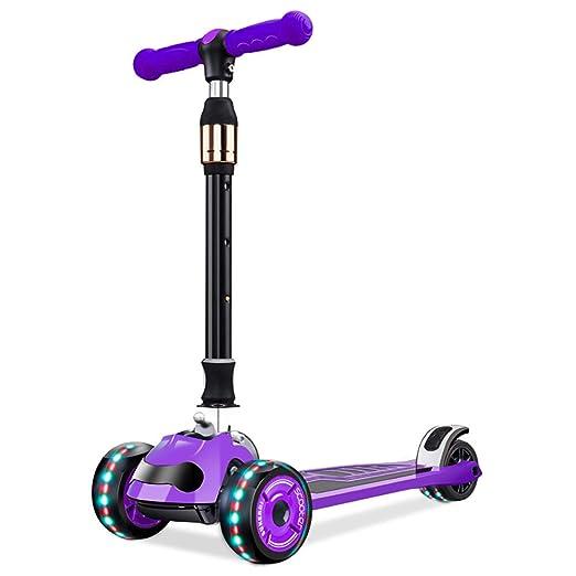 Patinete Purple Children 3 Wheel Scooter Altura 4 Archivos ...