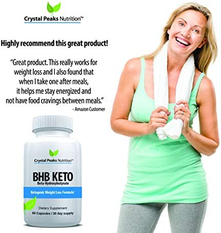 Keto Diet Pills with GoBHB | Advanced Ketones for Weightloss Supplement | Boost Metabolism and Blast Fat | 60 Capsules 3