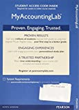 MyLab Accounting with Pearson eText -- Access