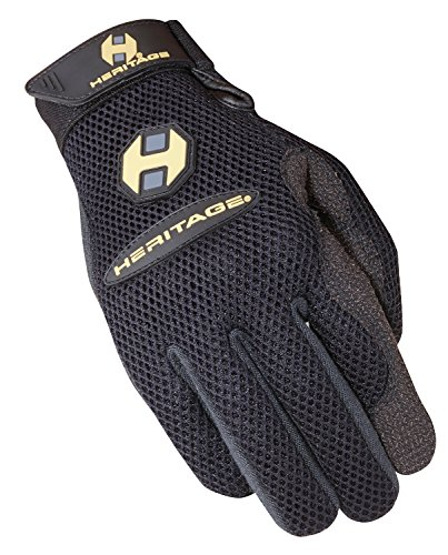 (Heritage Air-Flow Roping Gloves, Size 9,)